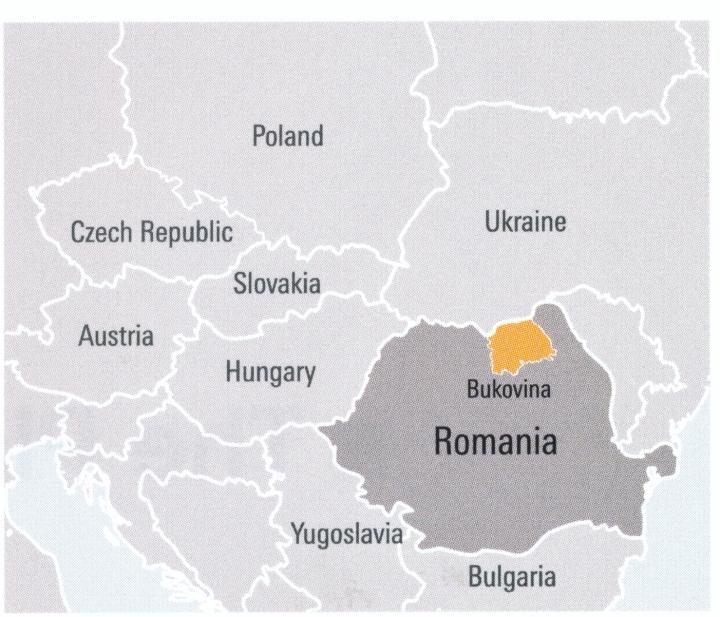 Bukovina Map